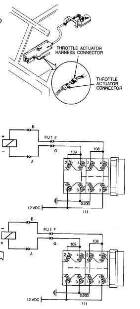 reference information engine throttle control circuit