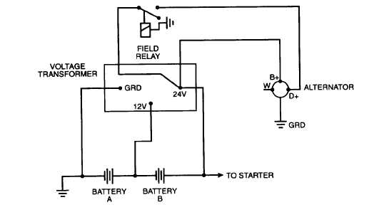 diagram alternator rectifier diodes generator diodes
