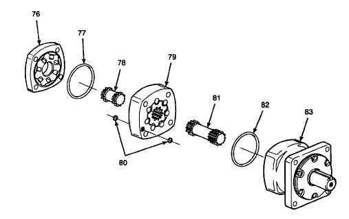 Gear Shaft Assembly Gear Shaft From Bearing