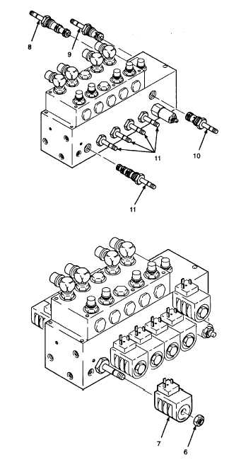 7  install valve spool